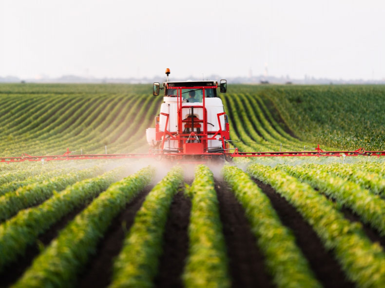 Agricultural Boom-spraying