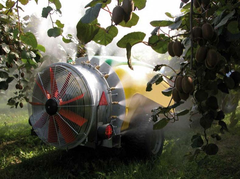 Orchard and Vineyard spraying