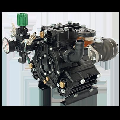 Diaphragm pump DELTa 75 and hydraulic motor unit